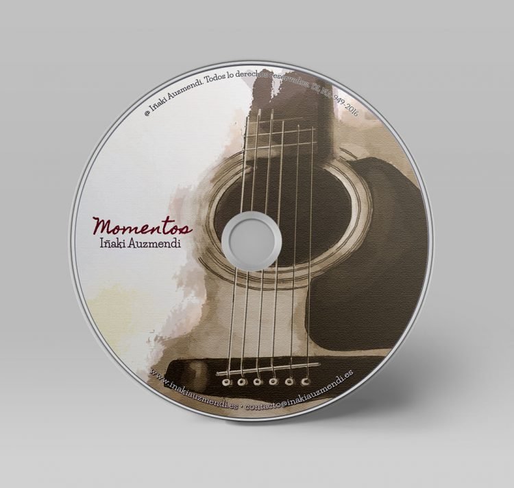cd Momentos (mock-up)