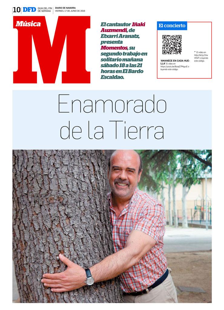 Entrevista a Iñaki Auzmendi en Definde 17- 6 -2016
